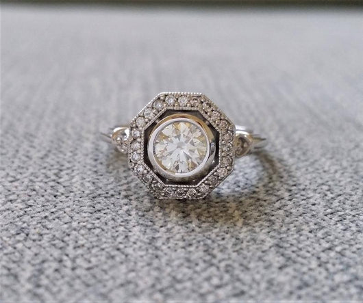 The Greta EF Moissanite