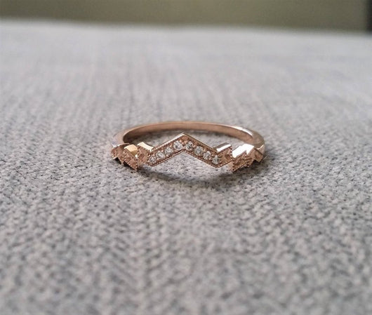 The Florence Band (Moissanite)