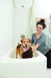 The Dirty Dog Shammy Towel by Dog Gone Smart. Keep control of your dog while you dry him.