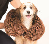 The Dirty Dog Shammy Towel by Dog Gone Smart. Super Absorbent Dog Towel. Take it anywhere!