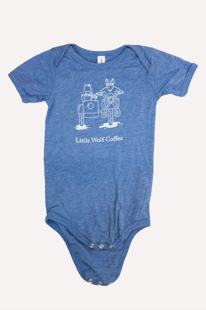 Little Wolf Baby Onesie