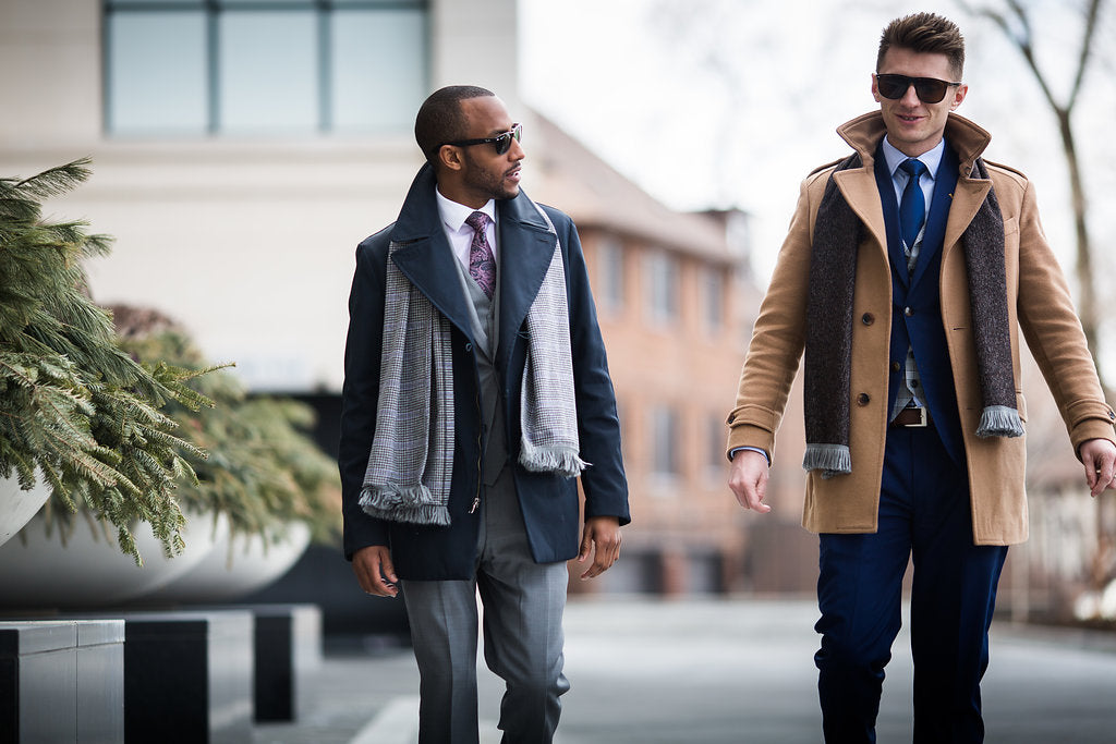 Choose Men's Winter Outerwear for Your Body Type