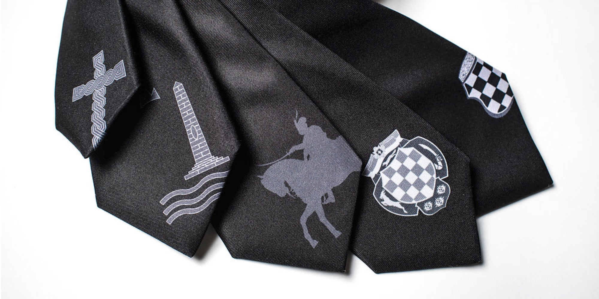 Croatian Motif Ties