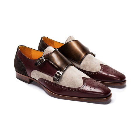 Monk Strap Mens Shoe