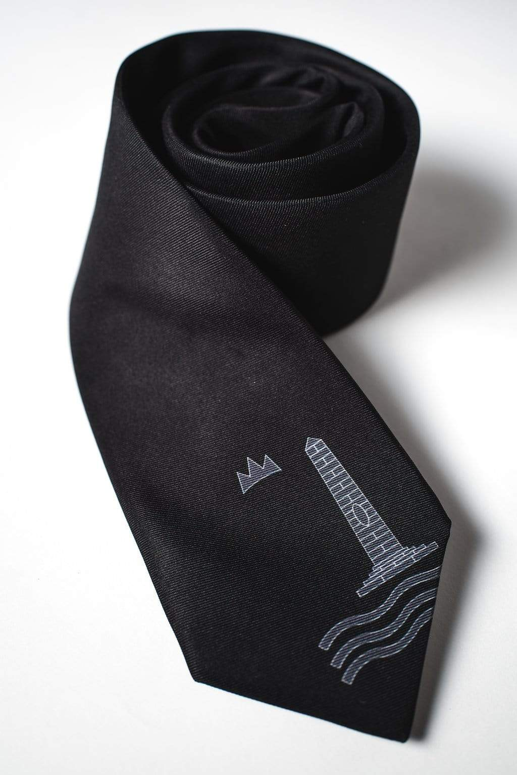 Croatian Men's Tie | Lingo Luxe The Luscious-Lingo Luxe Bespoke