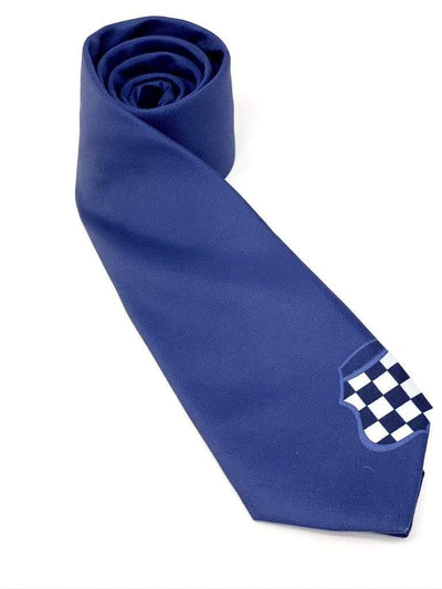 Croatian Tie | The Whip - Blue