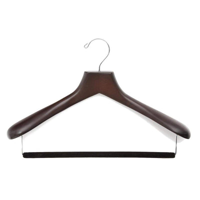 Luxury Wooden Suit Hanger (Men's)-Lingo Luxe Bespoke