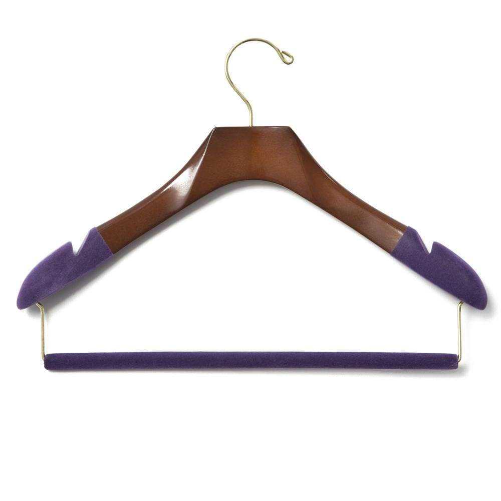 Luxury Wooden Suit Hanger (Women's)-Lingo Luxe Bespoke