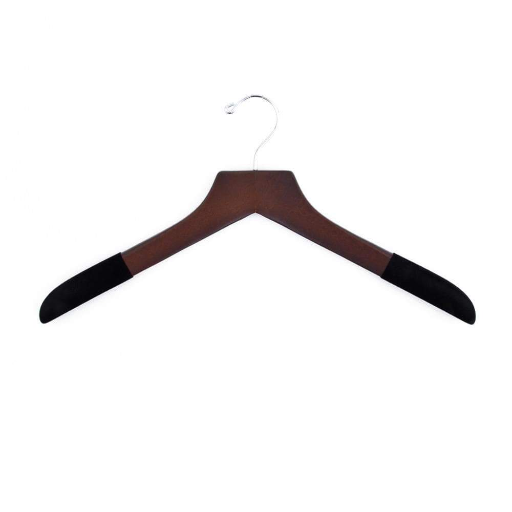 Luxury Wooden Sweater Hanger (Men's)-Lingo Luxe Bespoke