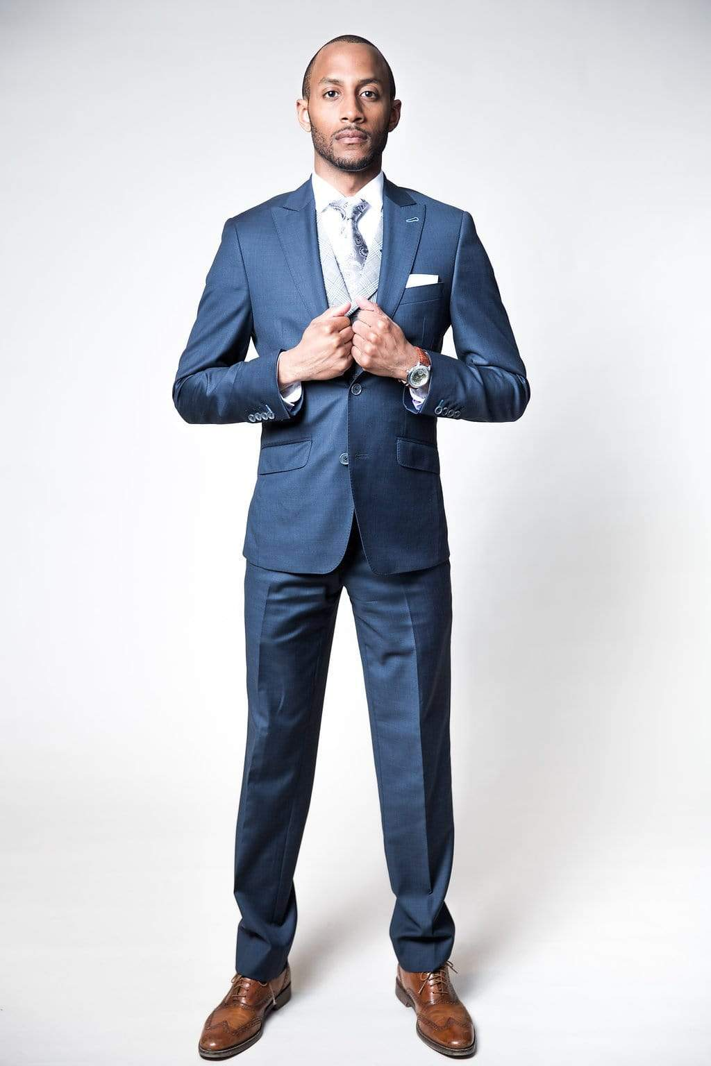 MEN'S 3 PIECE BESPOKE SUIT - PLATINUM LEVEL