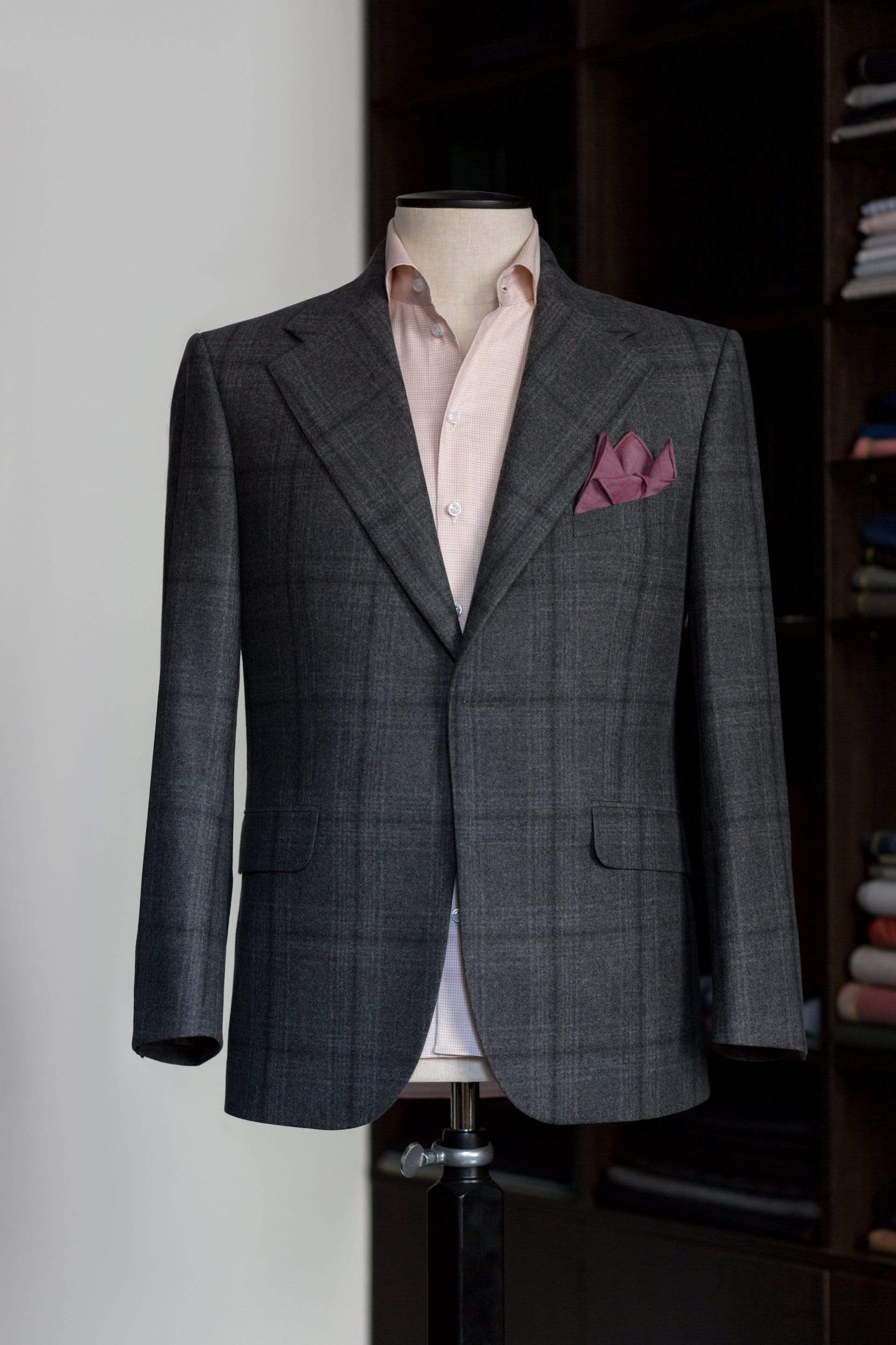 MEN'S BESPOKE BLAZER - PLATINUM LEVEL