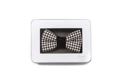 Men's Bowtie | Lingo Luxe The Sterling-Lingo Luxe Bespoke