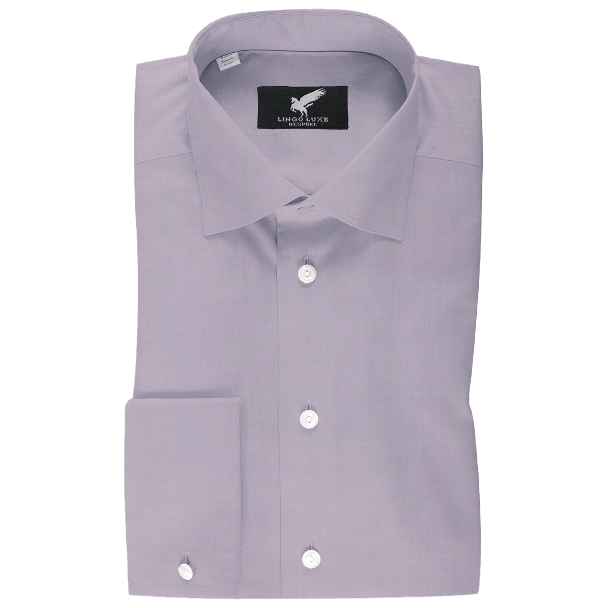 Men's Business Basics Shirt | Lingo Luxe Lavender-Lingo Luxe Bespoke