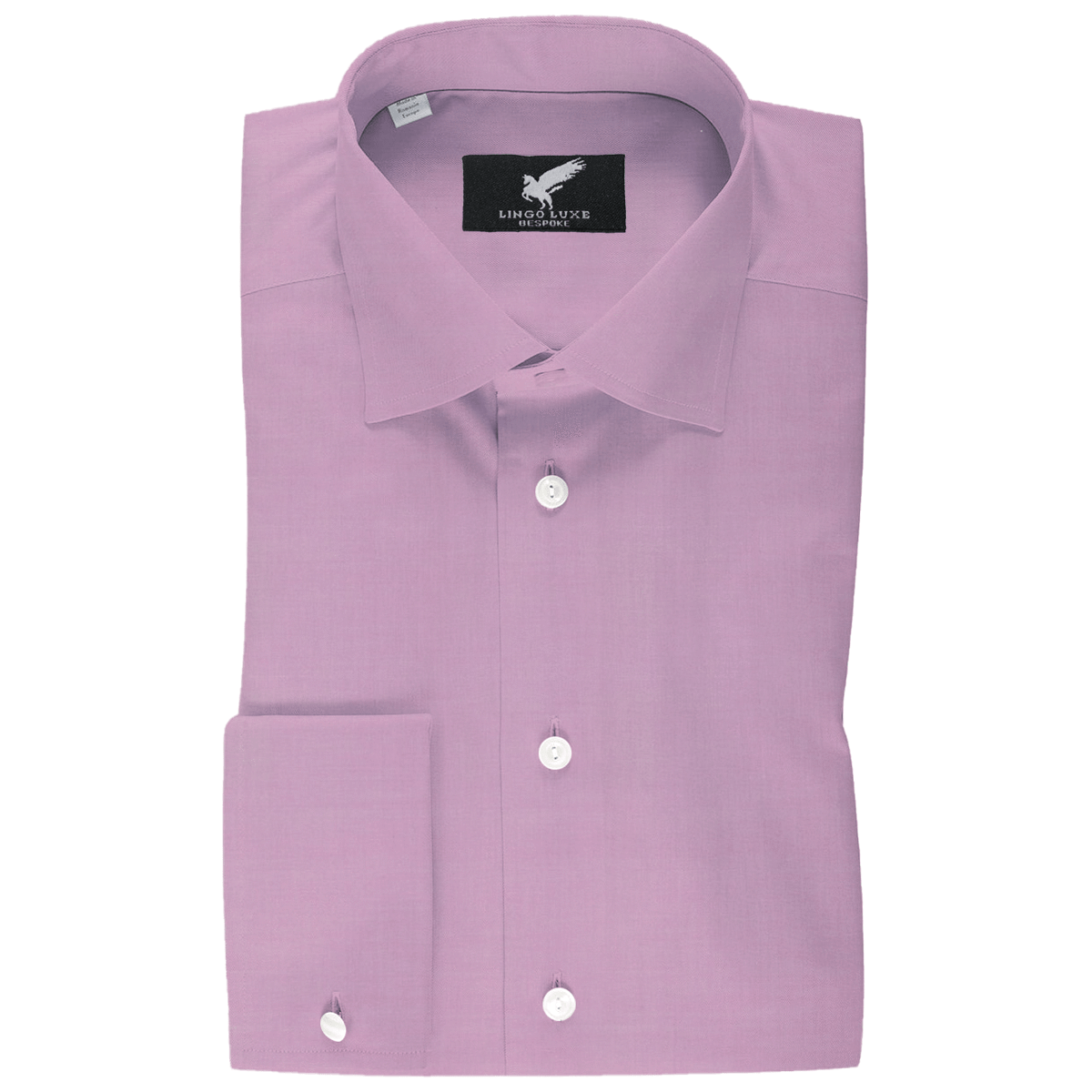 Men's Business Basics Shirt | Lingo Luxe Pink-Lingo Luxe Bespoke
