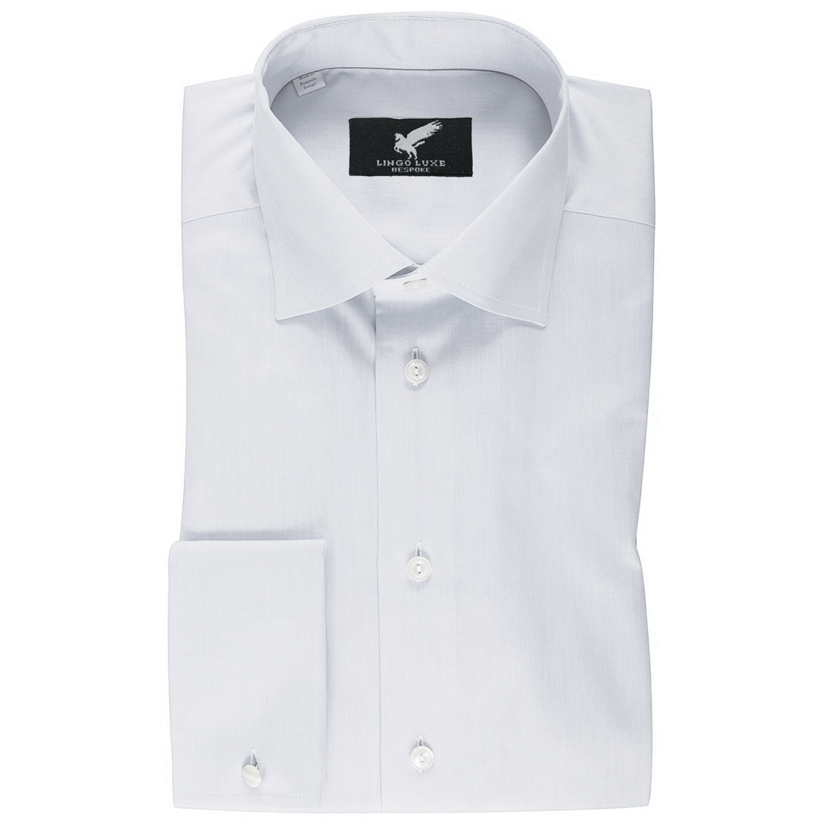 Men's Business Basics Shirt | Lingo Luxe White-Lingo Luxe Bespoke