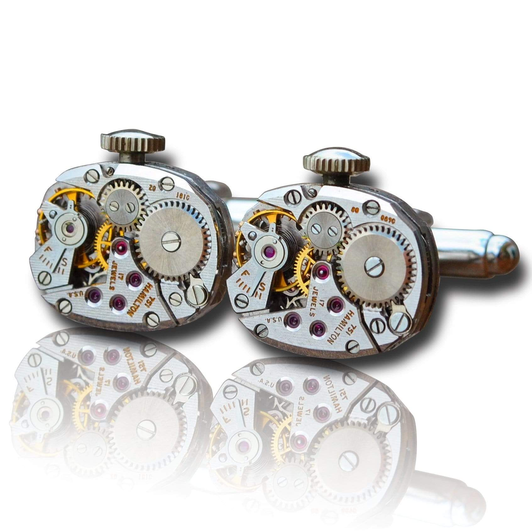 Men's Cufflinks | Lingo Luxe The Chiba-Lingo Luxe Bespoke