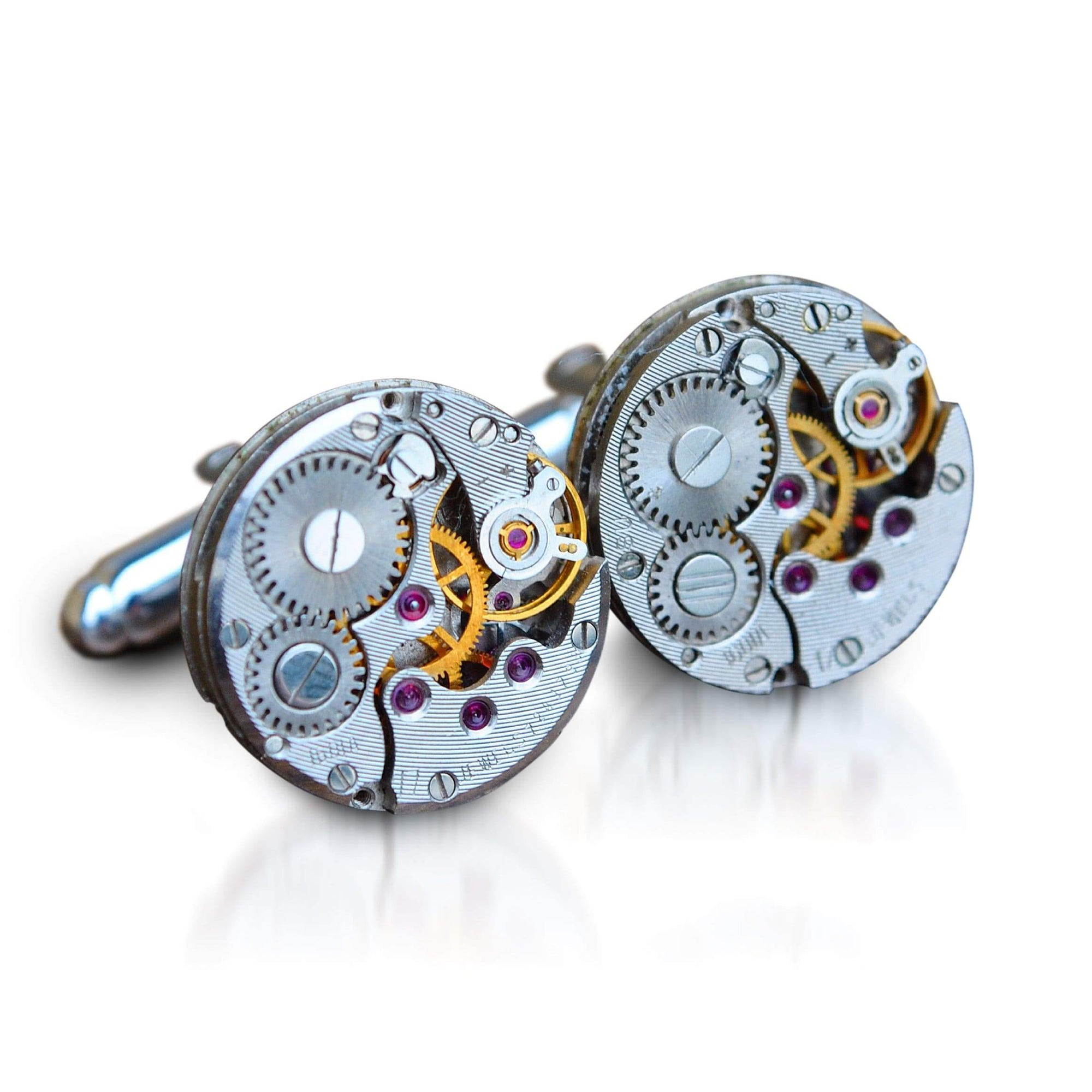 Men's Cufflinks | Lingo Luxe The Connery-Lingo Luxe Bespoke