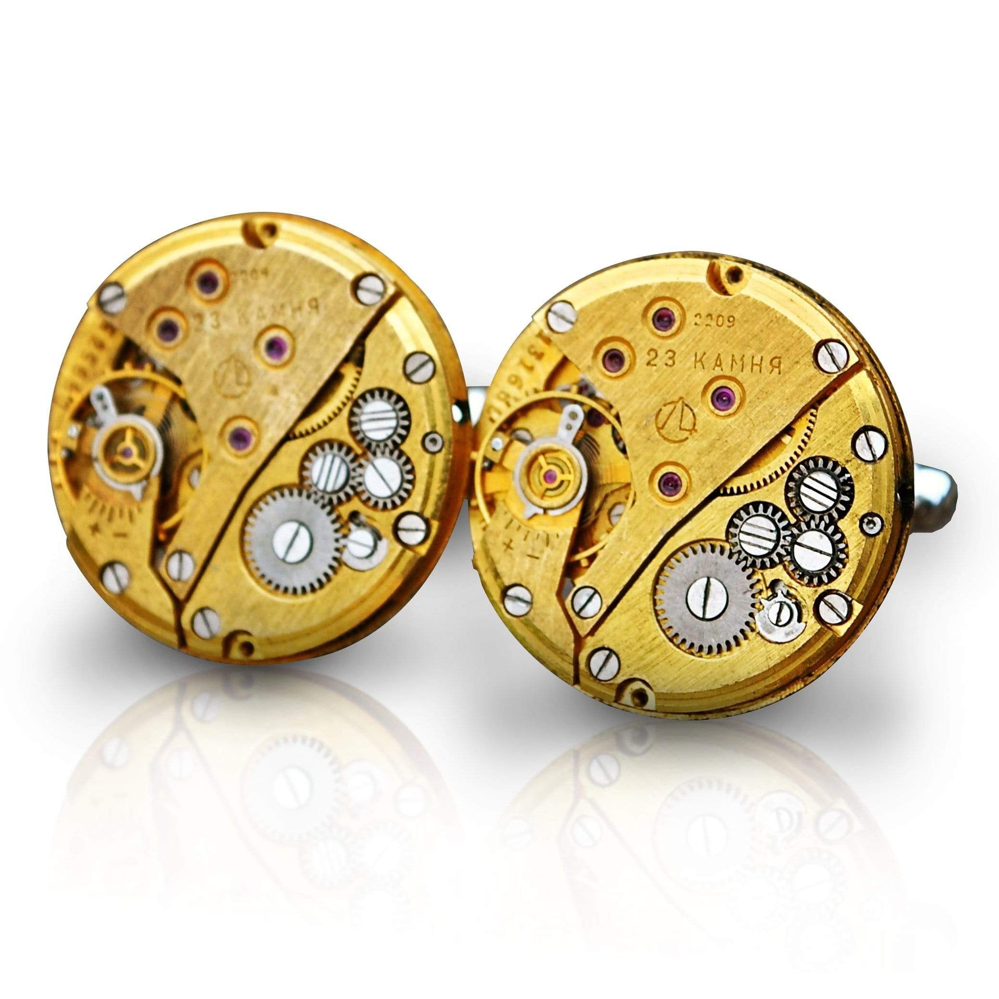 Men's Cufflinks | Lingo Luxe The Eastwood-Lingo Luxe Bespoke