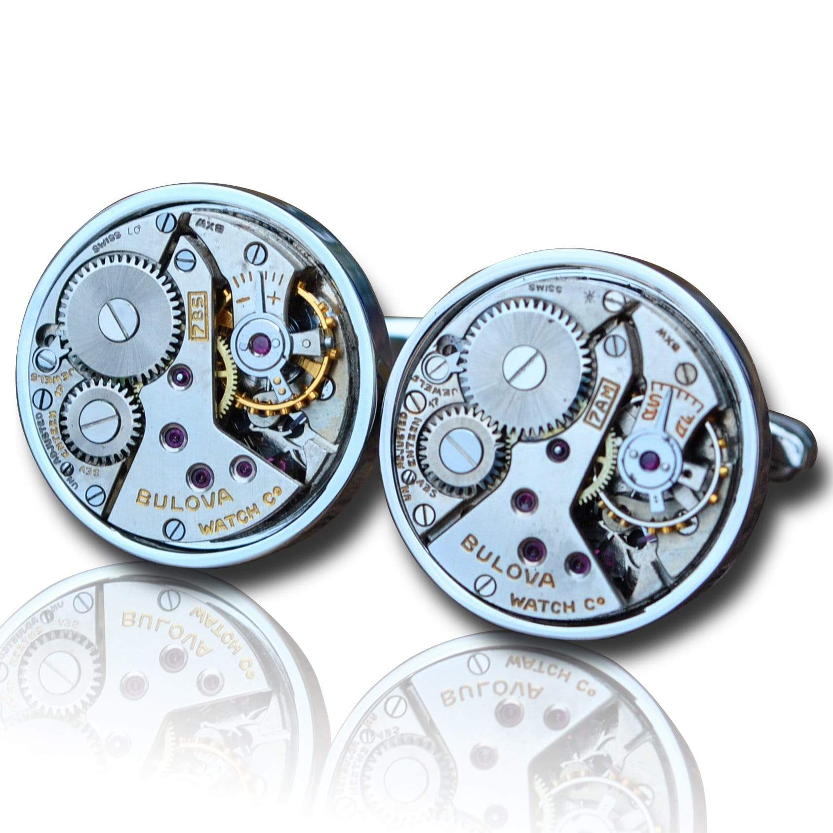 Men's Cufflinks | Lingo Luxe The Grier-Lingo Luxe Bespoke