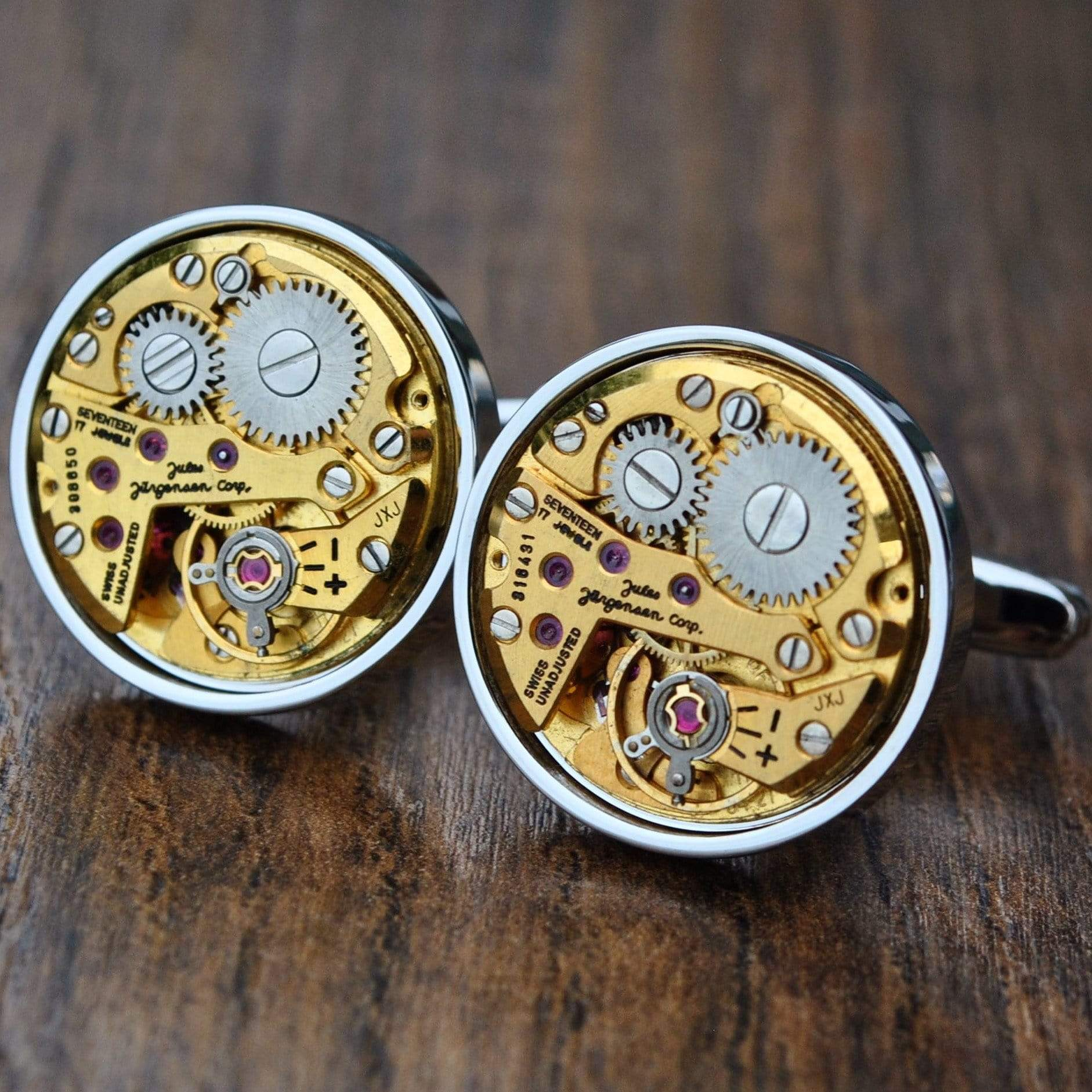 Men's Cufflinks | Lingo Luxe The Jurgensen-Lingo Luxe Bespoke