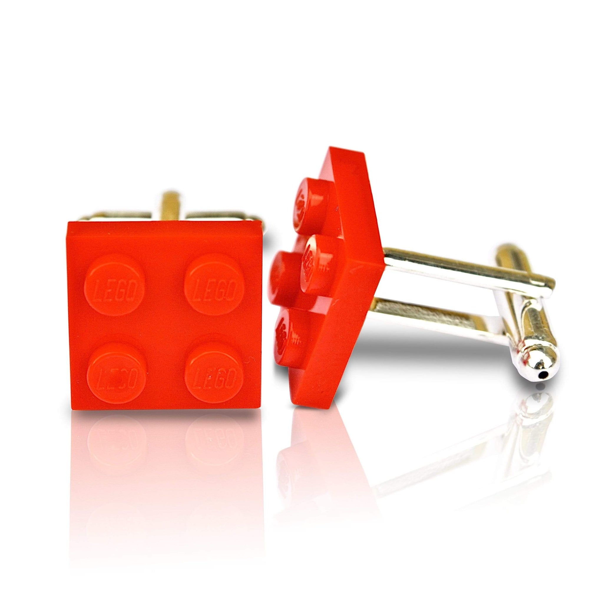 Men's Cufflinks | Lingo Luxe The Red Brick-Lingo Luxe Bespoke