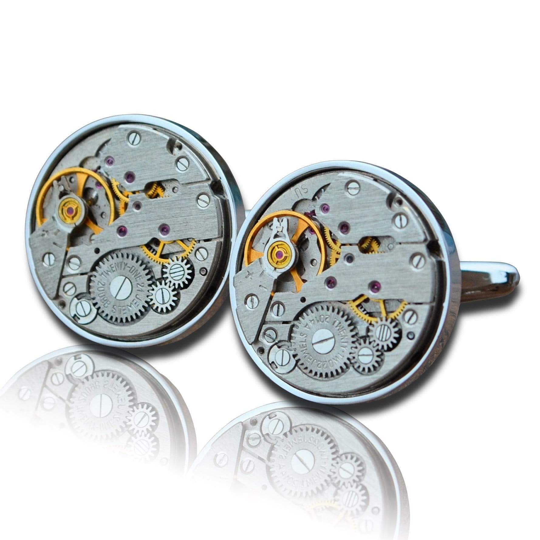 Men's Cufflinks | Lingo Luxe The Statham-Lingo Luxe Bespoke