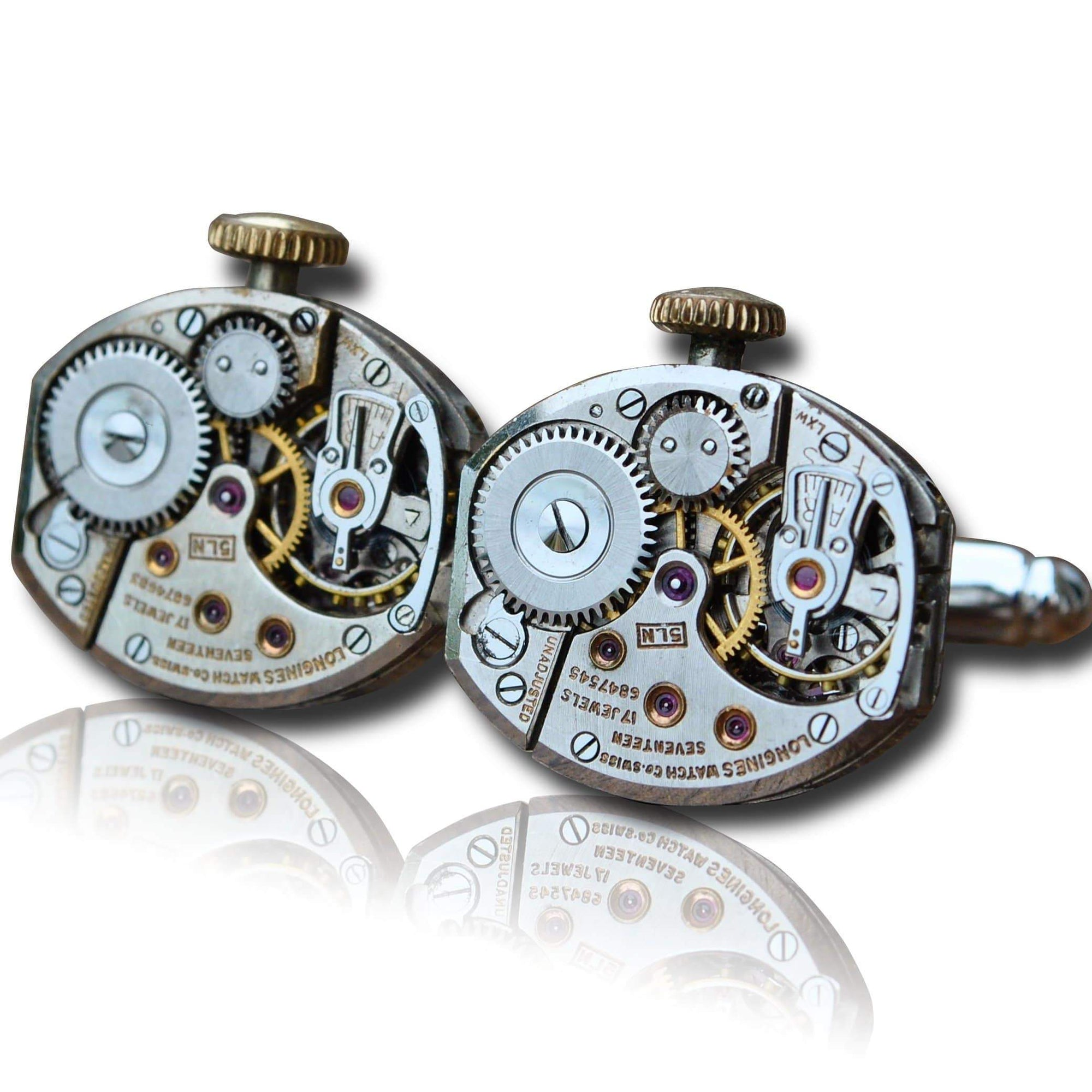 Men's Cufflinks | Lingo Luxe The Weathers-Lingo Luxe Bespoke