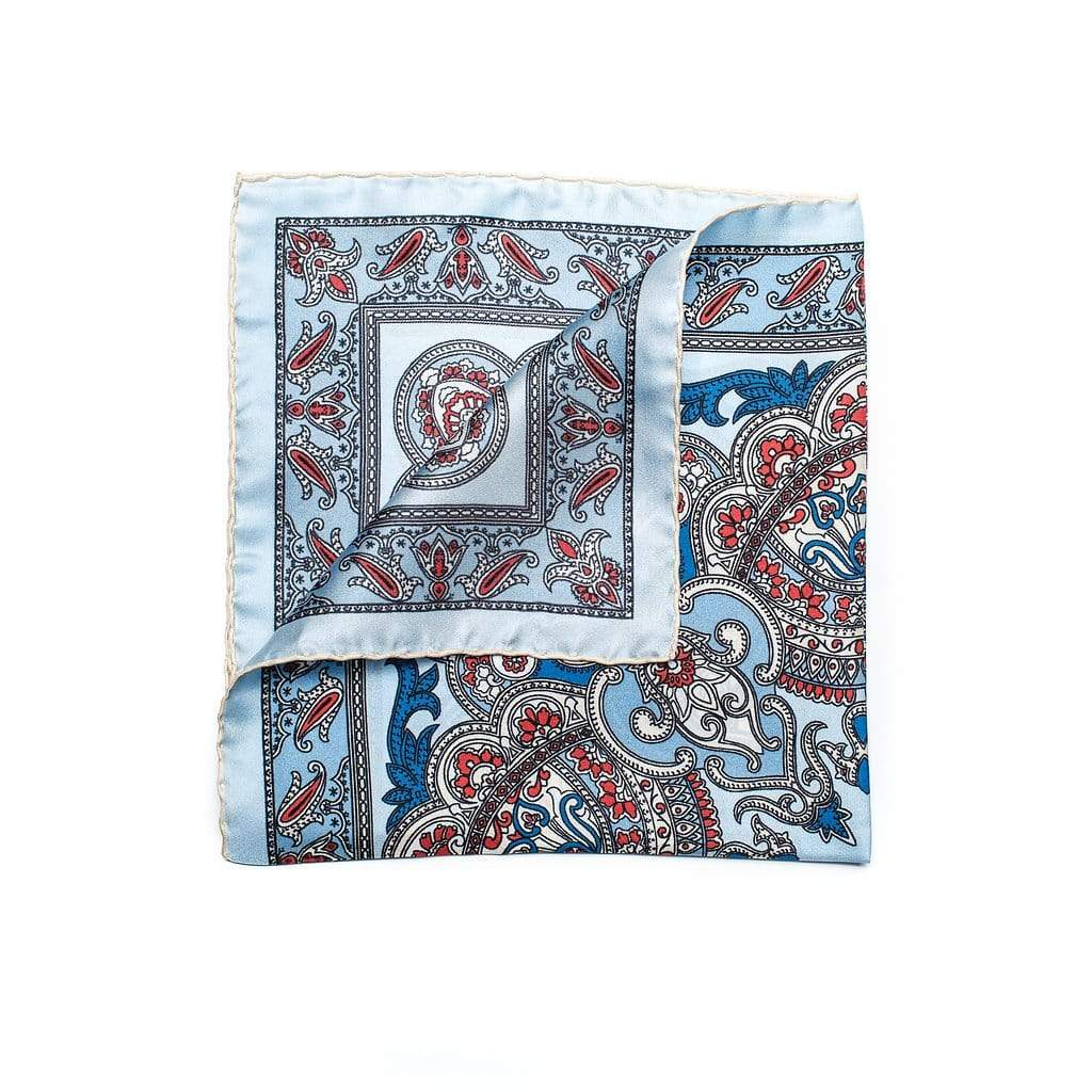 Men's Pocket Square | Lingo Luxe The Bliss-Lingo Luxe Bespoke