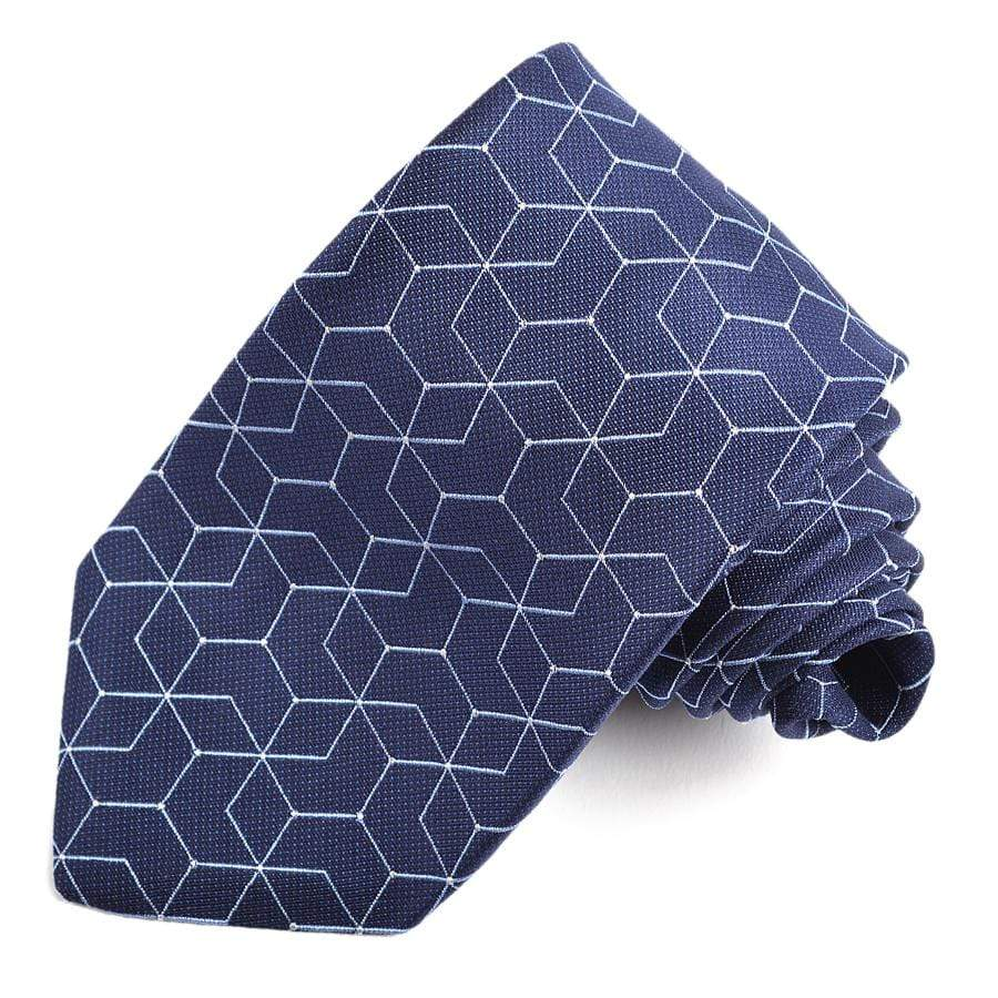 Men's Tie | Lingo Luxe The Block-Lingo Luxe Bespoke
