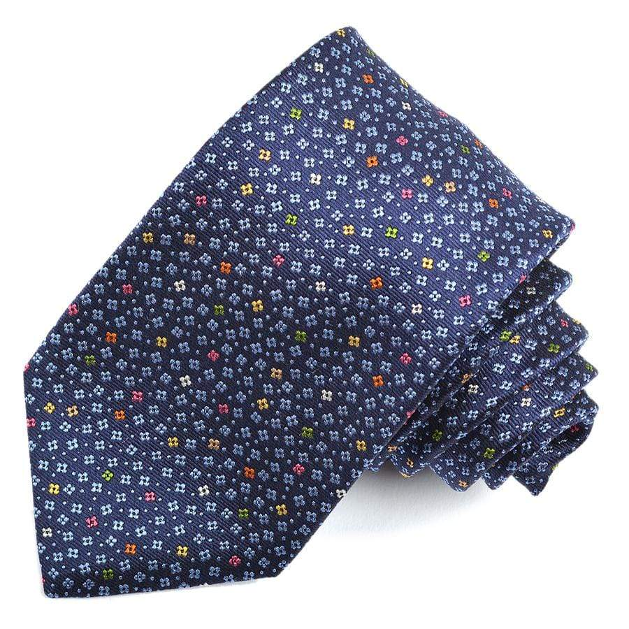 Men's Tie | Lingo Luxe The Speckled Floral-Lingo Luxe Bespoke