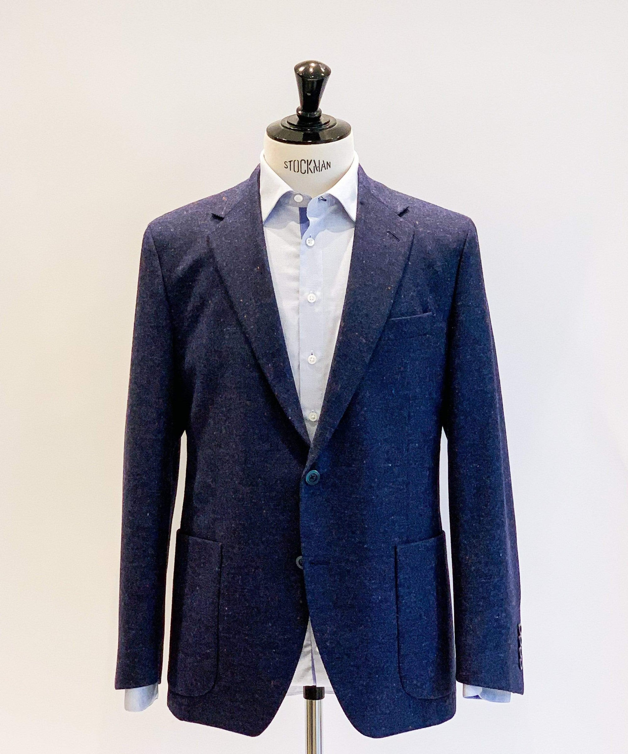 Navy Blue Confetti Sports Jacket