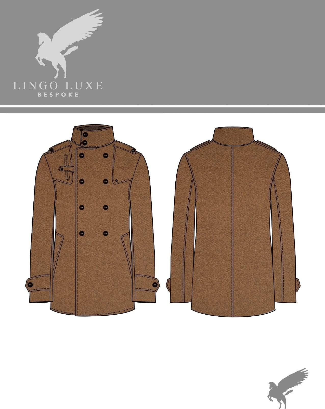 Outerwear | Lingo Luxe The Sportsman Sportcoat | Blonde Coffee-Lingo Luxe Bespoke