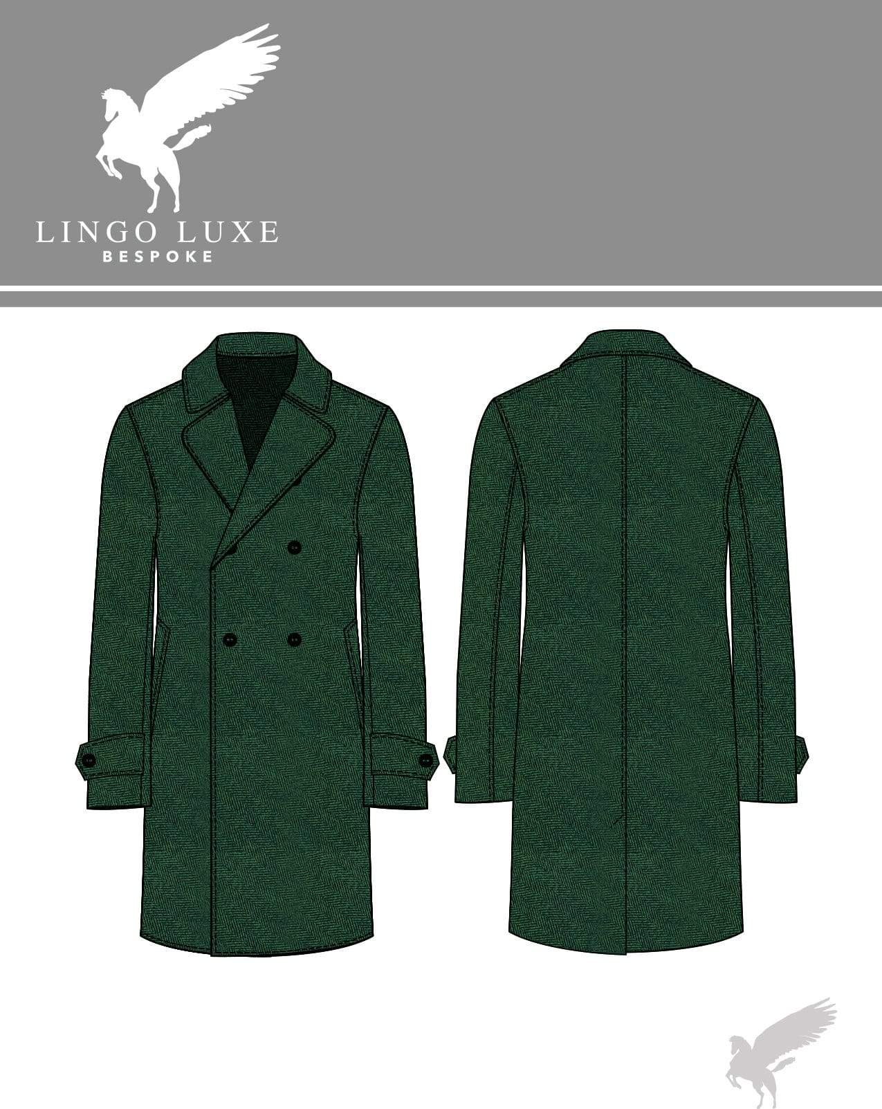 Outerwear | Lingo Luxe The Stately Overcoat | Hunter Herring-Lingo Luxe Bespoke