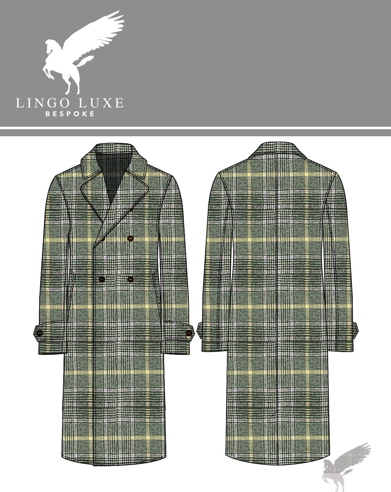 Outerwear | Lingo Luxe The Stately Overcoat | Lavender Sunshine-Lingo Luxe Bespoke