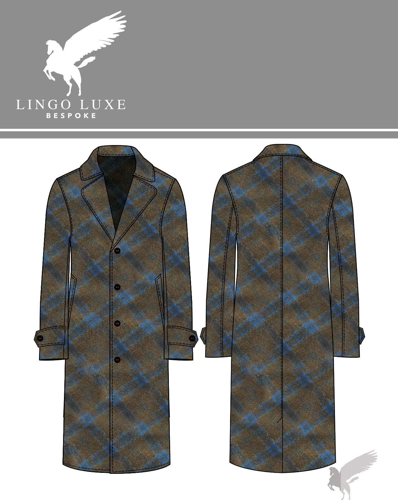 Outerwear | Lingo Luxe The Stately Overcoat | Meadows & Blue-Lingo Luxe Bespoke
