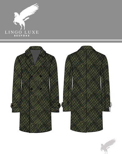 Outerwear | Lingo Luxe The Stately Overcoat | Mossland-Lingo Luxe Bespoke