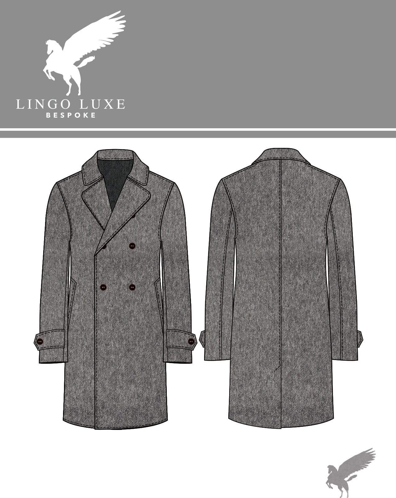 Outerwear | Lingo Luxe The Stately Overcoat | Mouse-Lingo Luxe Bespoke