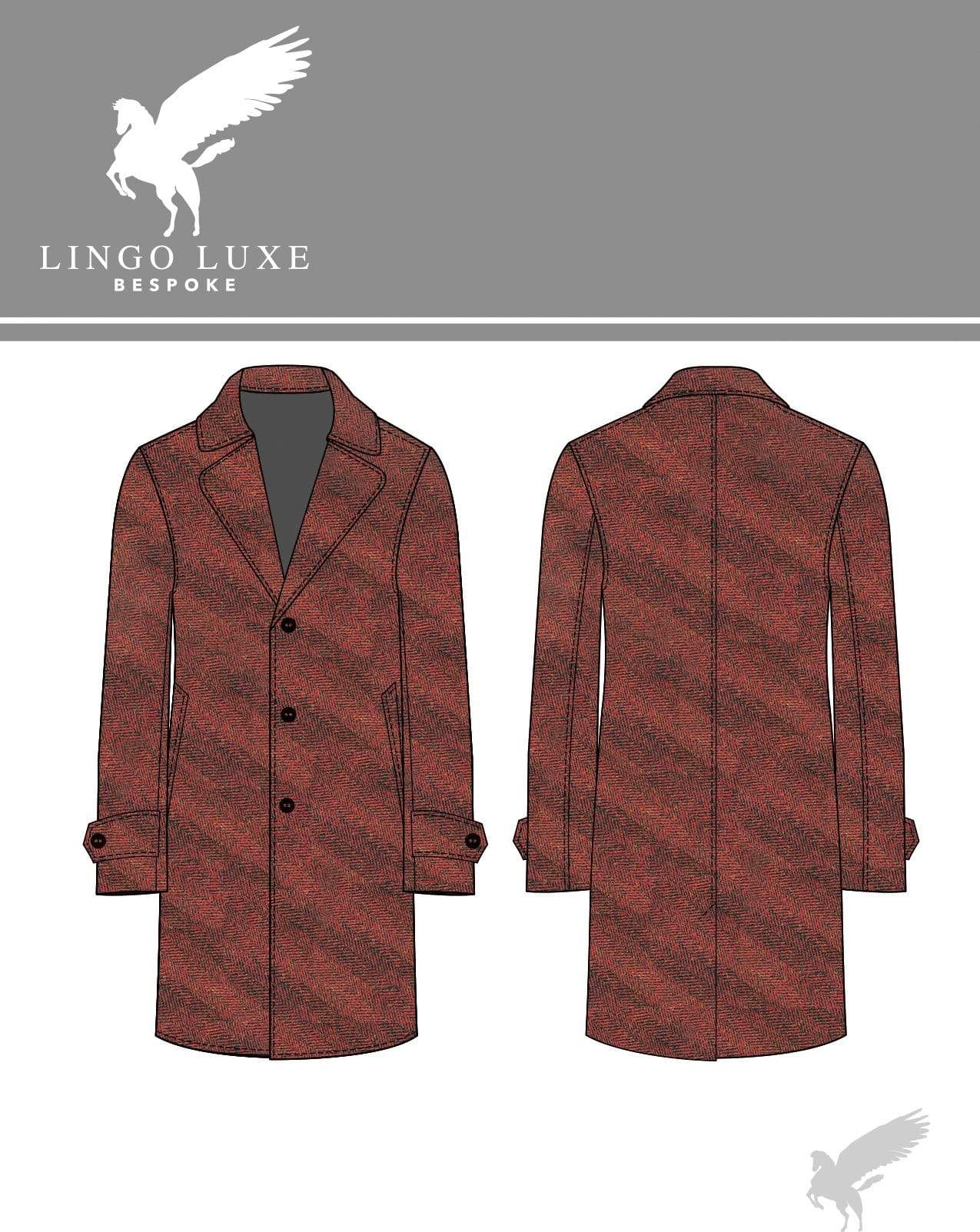 Outerwear | Lingo Luxe The Stately Overcoat | Red Herring-Lingo Luxe Bespoke