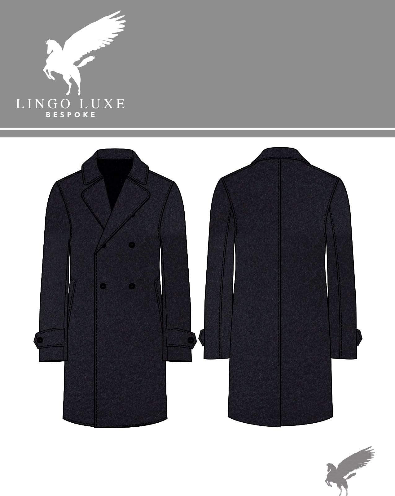 Outerwear | Lingo Luxe The Stately Overcoat | Rich Navy-Lingo Luxe Bespoke