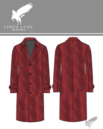 Outerwear | Lingo Luxe The Stately Overcoat | Ruby Tuesday-Lingo Luxe Bespoke
