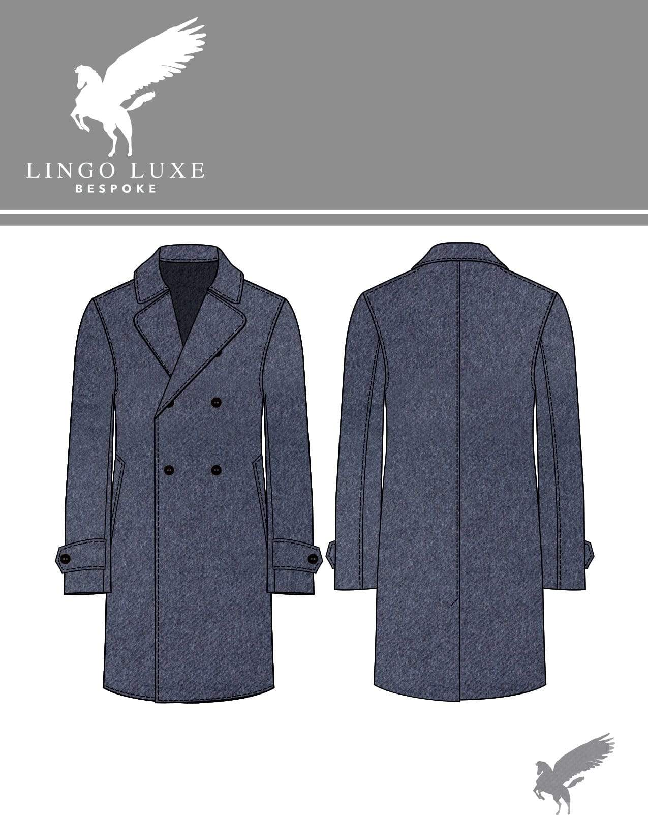 Outerwear | Lingo Luxe The Stately Overcoat | Steely Dan-Lingo Luxe Bespoke