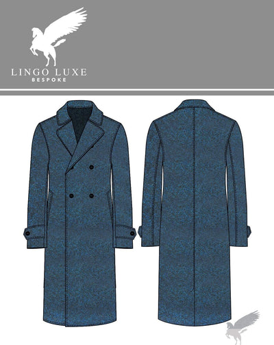 Outerwear | Lingo Luxe The Stately Overcoat | Tealy Herring-Lingo Luxe Bespoke