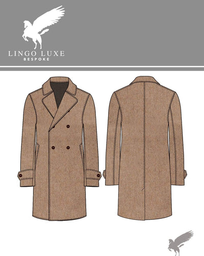 Outerwear | Lingo Luxe The Stately Overcoat | Woodland Doe-Lingo Luxe Bespoke