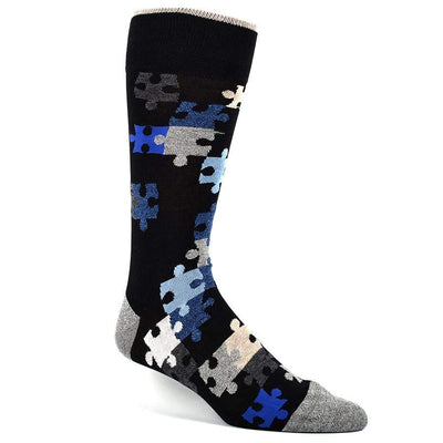The Puzzler Socks