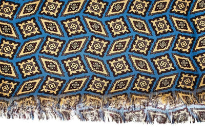 Wool and Silk Scarf | Lingo Luxe The Maize-Lingo Luxe Bespoke
