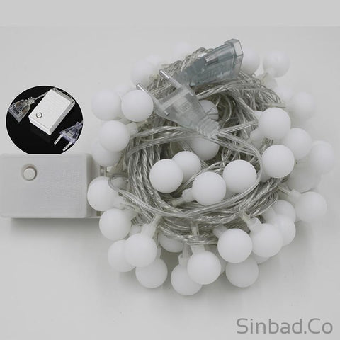 100 Multicolor LED Christmas Lights-Sinbadco