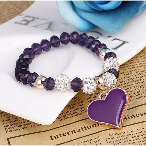 2018 Colorful Beads Charms Bracelets For Women and Men-Sinbadco