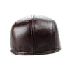 Image of 2018 Fitted Adult Design Men's 100% Genuine Leather Cap-Sinbadco