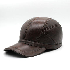 2018 Genuine Leather Baseball Cap - 3 Color Highest Quality