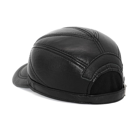 2018 Genuine Leather Baseball Cap - 3 Color Highest Quality-Sinbadco